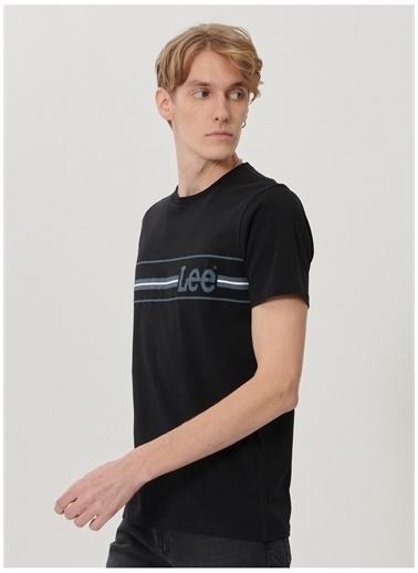 Lee Lee L211916001_Logo T-shirt Siyah